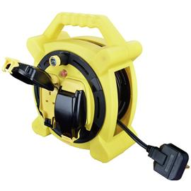 Masterplug 2 Socket 10 Metre Case Reel