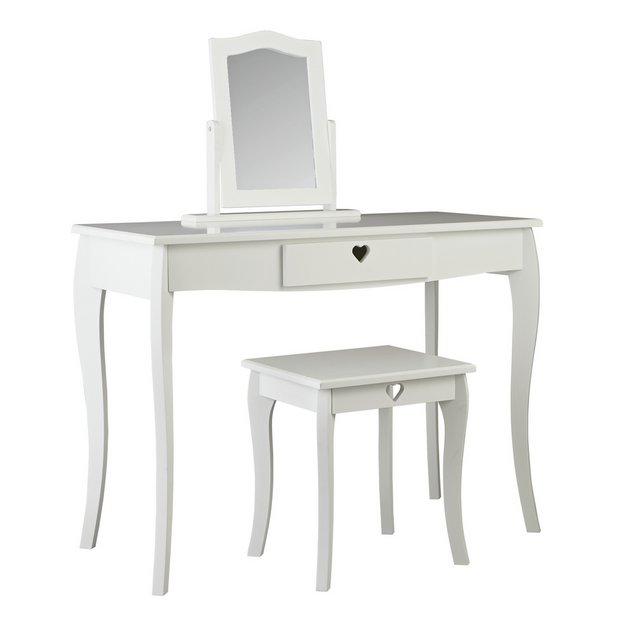 Buy Argos Home Mia White Dressing Table Kids Dressing Tables