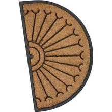 Argos Home Half Moon Fortress Doormat - 45x75cm