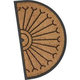 Argos Home Half Moon Fortress Doormat - 45x75cm