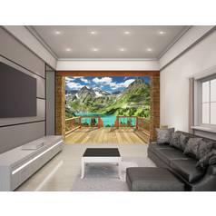 Murals and wall stickers argos walltastic alpine mountain wallpaper mural gumiabroncs Choice Image