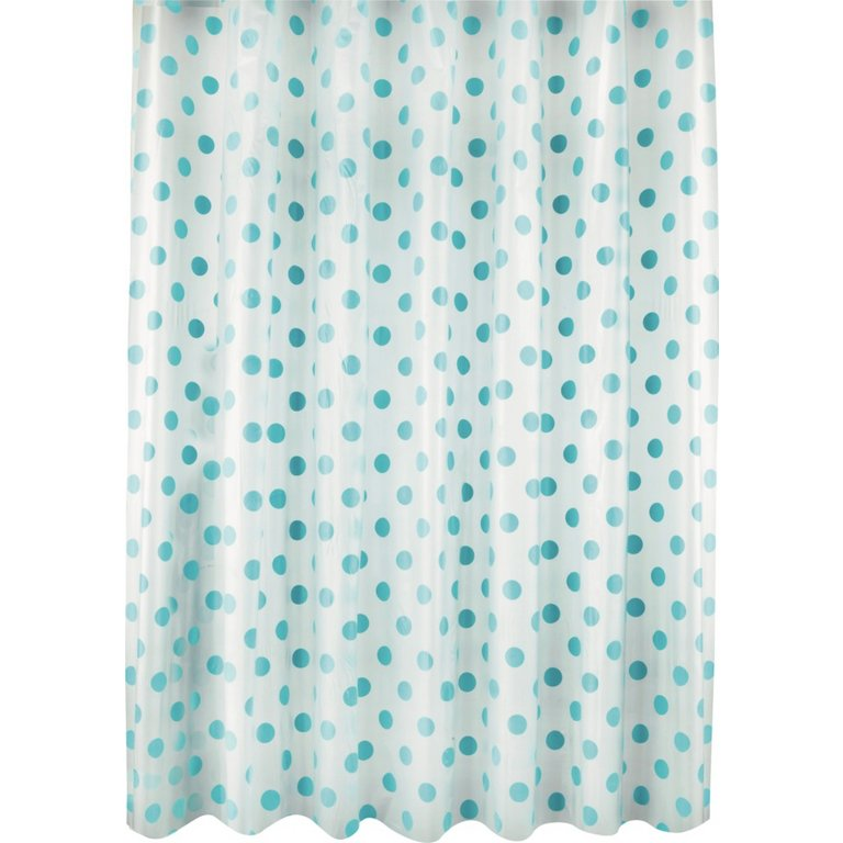 Buy Argos Home Polka Dot Shower Curtain Blue Shower Curtains