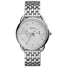 Fossil Ladies' Tailor ES3712 Silver Tone Chronograph Watch