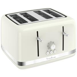 Moulinex 4 Slice Toaster - Ivory Best Price, Cheapest Prices