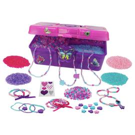 Chad Valley Be U Bead Box and 5000 Beads