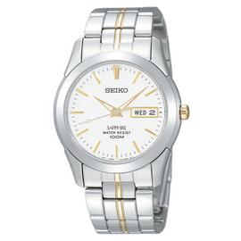 Seiko Men's Two Tone Stainless Steel Bracelet Watch