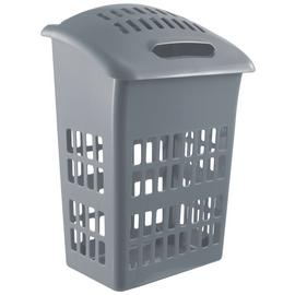 Argos Home 54 Litre Laundry Bin - Flint Grey