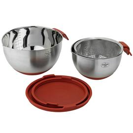 Good Housekeeping Nesting Bowls and Sieve Set