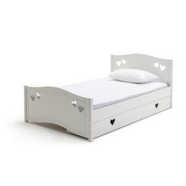 Argos Home Mia White Small Double Bed with Drawer