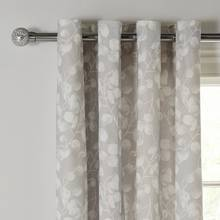 Argos Home Honesty Lined Eyelet Curtains - Grey