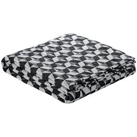 Habitat Paulista 150x200cm Throw - Black and White