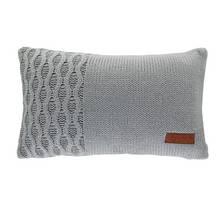 Argos Home Knitted Cushion - Grey