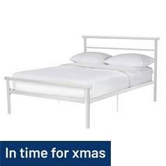 Argos Home Avalon Kingsize Bed Frame - White