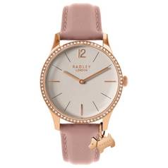 Radley Ladies' Millbank RY2524 Stone Set Blush Pink Watch