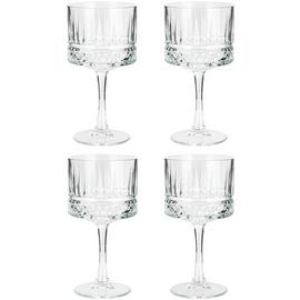 Habitat Set of 4 Pressed Gin Glasses