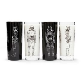 Star Wars Stormtrooper Set of 4 Glasses