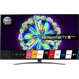 LG 55 Inch 55NANO86 Smart 4K UHD HDR LED Freeview TV