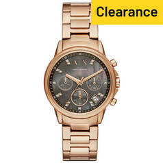 Armani Exchange Lady Banks AX4354 Rose Gold Tone Watch