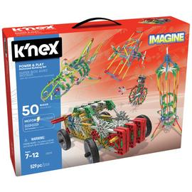 K'NEX Power & Play 50 Model Motorised Building Set