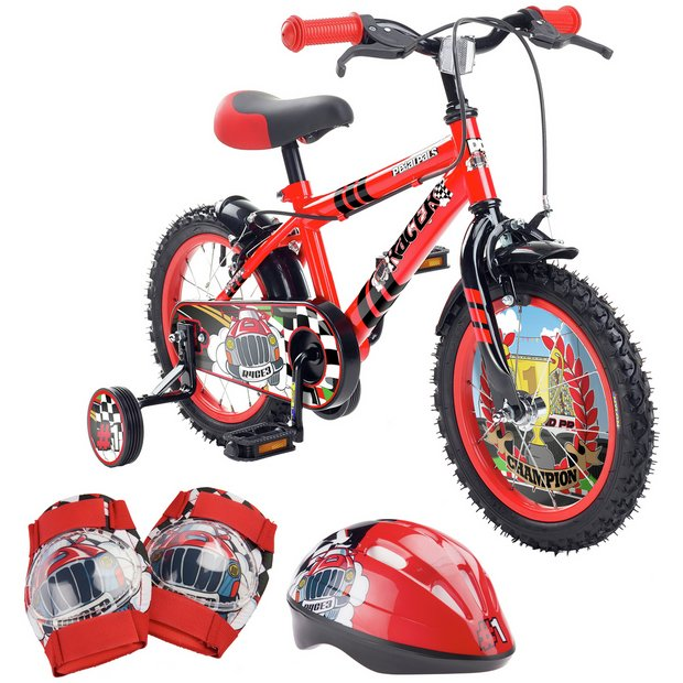 922c86afbec Buy Pedal Pals 14 Inch Racer Kids Bike and Accessories Set | Kids ...