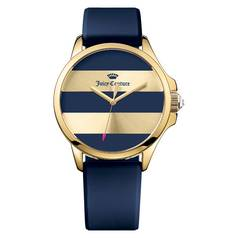 Juicy Couture Ladies' Jetsetter Blue Striped Dial Watch