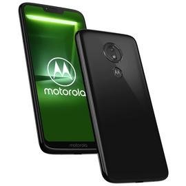 SIM Free Motorola G7 Power 64GB Mobile Phone - Black