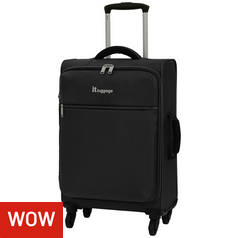 IT Luggage WOW Lite 4 Wheel Cabin Case
