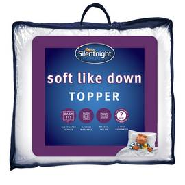 Silentnight Soft Like Down Mattress Topper - Double