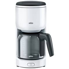 Braun Series 300 Filter Coffee Machine - White
