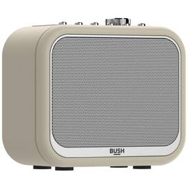 Bush Classic Mono Leather DAB Radio - Cream