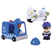 Chad Valley Tots Town Police Vehicle Set