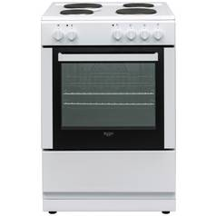 Bush DHBES60W 60cm Single Oven Electric Cooker - White