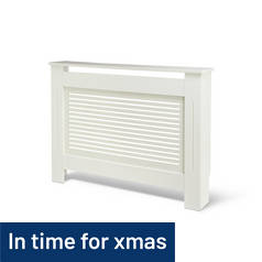 Argos Home Austin Small Radiator Cover - White