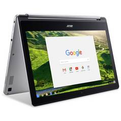 Acer R13 13.3 Inch MTK 4GB 64GB 2 in 1 Chromebook - Silver