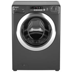 Candy GVSW496DCAR 9KG 6KG 1400 Spin Washer Dryer - Graphite