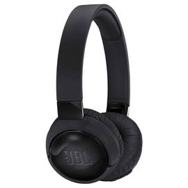 JBL T600 On-Ear Wireless ANC Headphones - Black