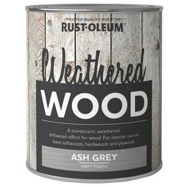 Rust-Oleum Weathered Wood Paint 750ml - Ash Grey