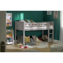 Argos Home Brooklyn Grey Mid Sleeper & Kids Mattress