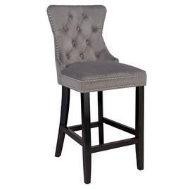 Argos Home Princess Stud Barstool - Charcoal