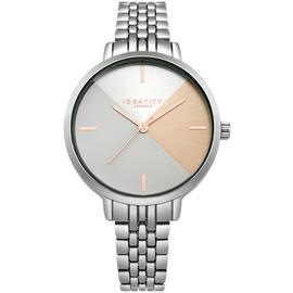 Identity London Ladies' Geometric Dial Bracelet Watch