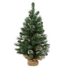 argos home snow covered hessian christmas tree 25ft