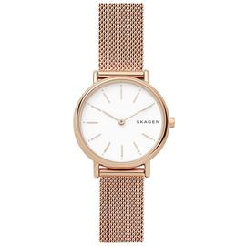 Skagen Ladies' Signatur Slim Rose Tone Mesh Watch