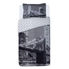 Argos Home New York Skyline Bedding Set - Single