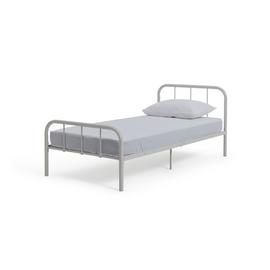 Argos Home Charlie White Single Bed Frame
