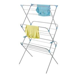 Minky Wide Dry Trio 20m Indoor Clothes Airer