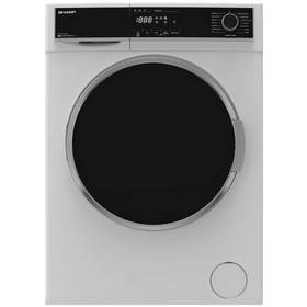 Sharp ES-HFH9148W3 9KG 1400 Spin Washing Machine - White