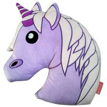 Emoji Unicorn Cushion.