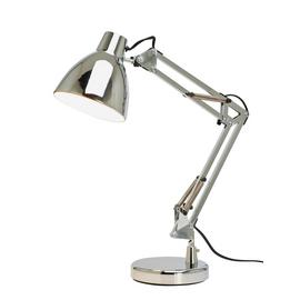Argos Home Task Table Lamp - Chrome