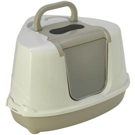 Petface Corner Litter Tray with Hood