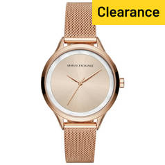 Armani Exchange Ladies' Harper AX5602 Mesh Strap Watch